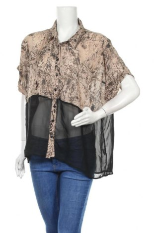 Γυναικείο πουκάμισο Rivers, Μέγεθος XL, Χρώμα Πολύχρωμο, Πολυεστέρας, Τιμή 10,39€