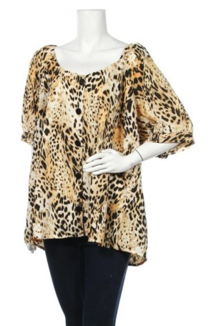 Дамска риза Simply Be, Размер 3XL, Цвят Многоцветен, Полиестер, Цена 17,96лв.