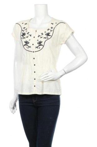 Γυναικείο πουκάμισο Springfield, Μέγεθος S, Χρώμα Εκρού, Βαμβάκι, Τιμή 8,64€