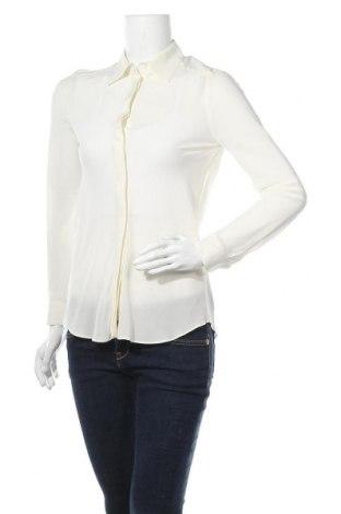Γυναικείο πουκάμισο Stefanel, Μέγεθος S, Χρώμα Εκρού, Μετάξι, Τιμή 52,27€