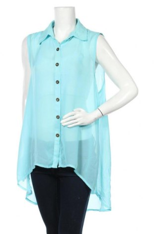 Γυναικείο πουκάμισο Supre, Μέγεθος XL, Χρώμα Μπλέ, Τιμή 9,87€