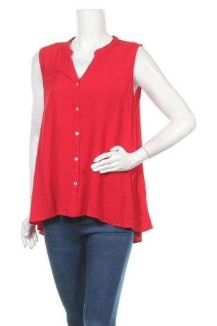 Γυναικείο πουκάμισο Suzanne Grae, Μέγεθος XL, Χρώμα Κόκκινο, Βισκόζη, Τιμή 9,35€