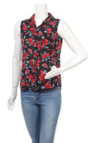 Γυναικείο πουκάμισο Tally Weijl, Μέγεθος S, Χρώμα Μαύρο, Τιμή 11,69€
