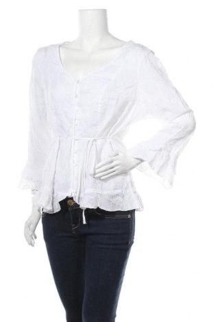Γυναικείο πουκάμισο Target, Μέγεθος XXL, Χρώμα Λευκό, Βαμβάκι, Τιμή 11,11€
