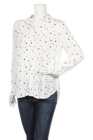 Γυναικείο πουκάμισο Tom Tailor, Μέγεθος L, Χρώμα Λευκό, Βισκόζη, Τιμή 22,81€