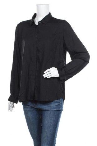 Γυναικείο πουκάμισο Trenery, Μέγεθος XL, Χρώμα Μαύρο, Τιμή 9,94€
