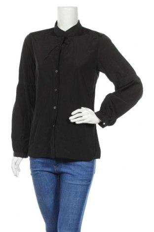 Γυναικείο πουκάμισο Turnover, Μέγεθος M, Χρώμα Μαύρο, 52% πολυαμίδη, 48% βαμβάκι, Τιμή 16,70€