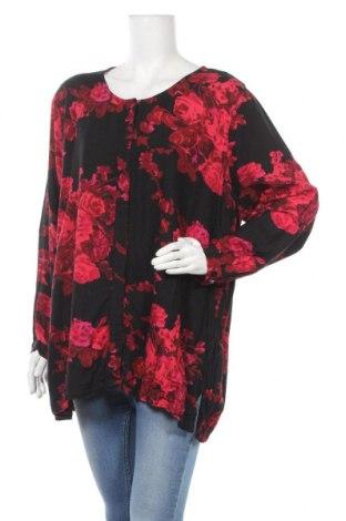 Γυναικείο πουκάμισο Ulla Popken, Μέγεθος XXL, Χρώμα Μαύρο, Βισκόζη, Τιμή 8,64€