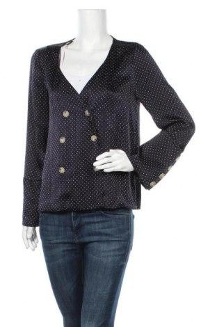 Γυναικείο πουκάμισο Zara Trafaluc, Μέγεθος L, Χρώμα Μπλέ, 67% βισκόζη, 33% πολυεστέρας, Τιμή 18,19€