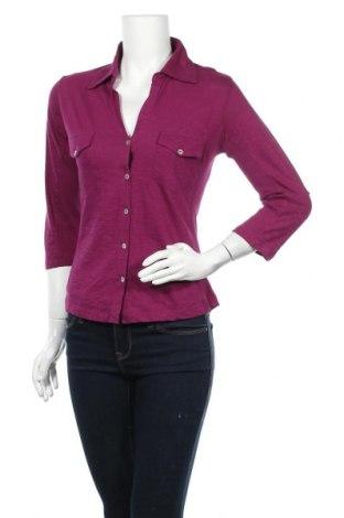 Γυναικείο πουκάμισο Zero, Μέγεθος S, Χρώμα Βιολετί, Τιμή 11,04€