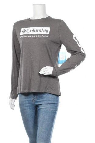 Дамска спортна блуза Columbia, Размер S, Цвят Сив, 60% памук, 20% полиестер, 20% вискоза, Цена 29,50лв.