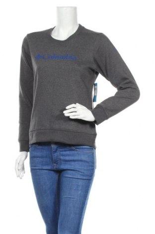Дамска спортна блуза Columbia, Размер S, Цвят Сив, 60% памук, 40% полиестер, Цена 53,40лв.