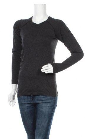 Γυναικεία αθλητική μπλούζα H&M Sport, Μέγεθος M, Χρώμα Γκρί, 59% πολυαμίδη, 41% πολυεστέρας, Τιμή 11,69€