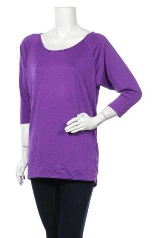 Γυναικεία αθλητική μπλούζα H&M Sport, Μέγεθος M, Χρώμα Βιολετί, 90% πολυεστέρας, 10% ελαστάνη, Τιμή 12,34€