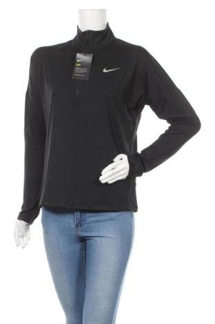 Дамска спортна блуза Nike, Размер M, Цвят Черен, 88% полиестер, 12% еластан, Цена 60,52лв.