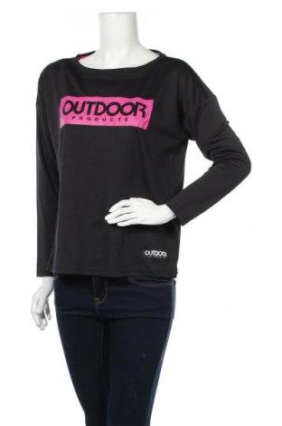 Γυναικεία αθλητική μπλούζα Outdoor, Μέγεθος L, Χρώμα Μαύρο, Τιμή 5,26€