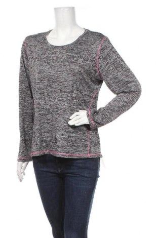 Γυναικεία αθλητική μπλούζα Rbx, Μέγεθος XL, Χρώμα Γκρί, Πολυεστέρας, Τιμή 4,87€