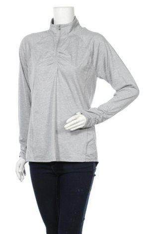 Γυναικεία αθλητική μπλούζα Rbx, Μέγεθος L, Χρώμα Γκρί, 88% πολυεστέρας, 12% ελαστάνη, Τιμή 10,49€