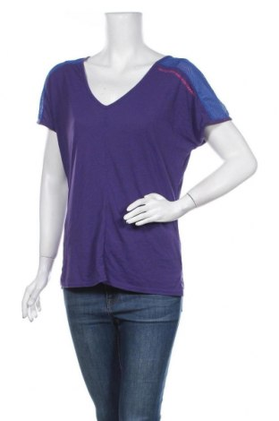 Дамска спортна блуза Skechers, Размер S, Цвят Лилав, 50% полиестер, 50% вискоза, Цена 5,56лв.
