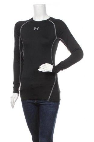 Дамска спортна блуза Under Armour, Размер M, Цвят Черен, Цена 28,50лв.