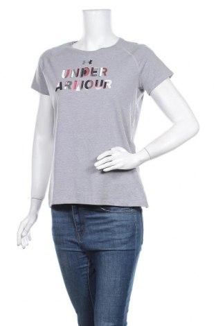 Дамска спортна блуза Under Armour, Размер XL, Цвят Сив, Цена 25,52лв.