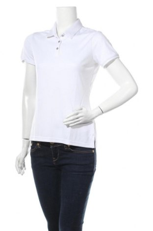 Дамска тениска Adidas, Размер S, Цвят Бял, 100% полиестер, Цена 33,12лв.