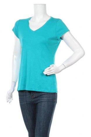 Γυναικείο t-shirt Ann Taylor, Μέγεθος L, Χρώμα Πράσινο, 100% βαμβάκι, Τιμή 9,35€