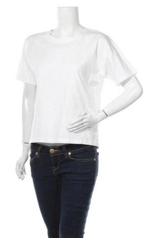 Γυναικείο t-shirt COS, Μέγεθος S, Χρώμα Λευκό, Τιμή 16,04€