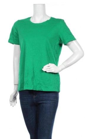 Γυναικείο t-shirt Christopher & Banks, Μέγεθος L, Χρώμα Πράσινο, 95% βαμβάκι, 5% ελαστάνη, Τιμή 11,11€