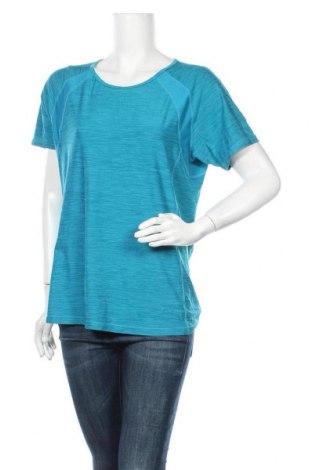 Γυναικείο t-shirt Crane, Μέγεθος XL, Χρώμα Μπλέ, Πολυεστέρας, ελαστάνη, Τιμή 10,49€