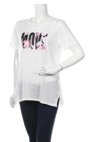 Γυναικείο t-shirt Crane, Μέγεθος XL, Χρώμα Λευκό, Πολυεστέρας, Τιμή 9,25€