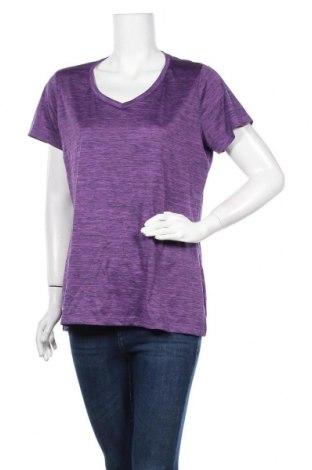 Γυναικείο t-shirt Crane, Μέγεθος XL, Χρώμα Βιολετί, Πολυεστέρας, Τιμή 10,52€