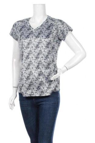 Γυναικείο t-shirt Crivit, Μέγεθος L, Χρώμα Γκρί, 82% πολυεστέρας, 18% ελαστάνη, Τιμή 9,35€