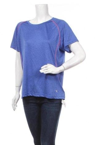 Γυναικείο t-shirt Diadora, Μέγεθος XXL, Χρώμα Μπλέ, Πολυεστέρας, Τιμή 7,73€