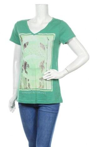 Γυναικείο t-shirt Edc By Esprit, Μέγεθος XXL, Χρώμα Πράσινο, Βαμβάκι, Τιμή 11,04€