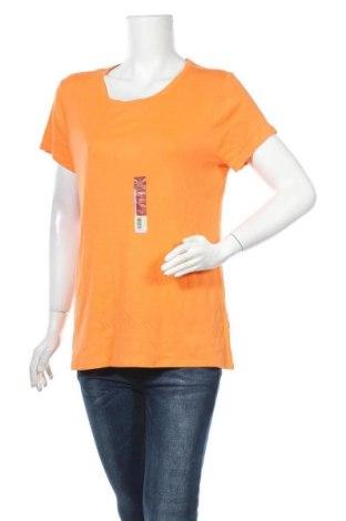 Γυναικείο t-shirt Faded Glory, Μέγεθος XXL, Χρώμα Πορτοκαλί, Βαμβάκι, Τιμή 10,39€