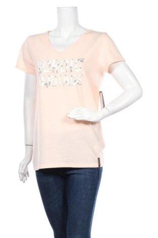 Γυναικείο t-shirt Icepeak, Μέγεθος XL, Χρώμα Ρόζ , 65% πολυεστέρας, 35% βαμβάκι, Τιμή 10,89€