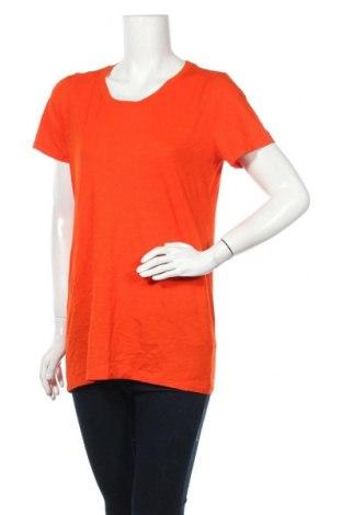 Γυναικείο t-shirt J.Crew, Μέγεθος L, Χρώμα Πορτοκαλί, 100% βαμβάκι, Τιμή 14,03€