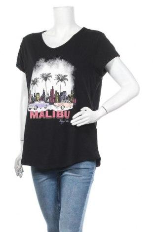 Γυναικείο t-shirt Kangaroos, Μέγεθος XL, Χρώμα Μαύρο, 95% βαμβάκι, 5% ελαστάνη, Τιμή 13,67€