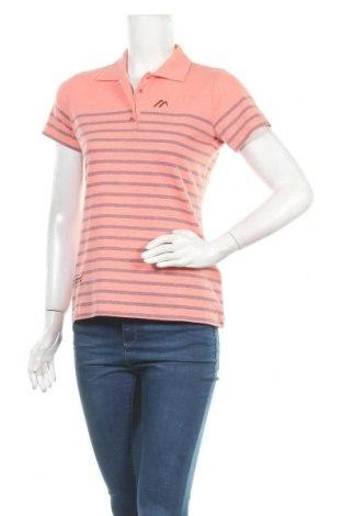 Γυναικείο t-shirt Maier Sports, Μέγεθος S, Χρώμα Πορτοκαλί, 50% βαμβάκι, 50% πολυεστέρας, Τιμή 18,09€