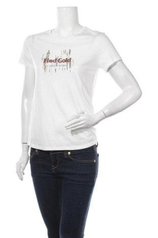 Γυναικείο t-shirt Massimo Dutti, Μέγεθος S, Χρώμα Λευκό, Τιμή 5,77€