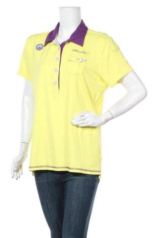 Дамска тениска Moorhead, Размер XL, Цвят Жълт, 95% полиамид, 5% еластан, Цена 28,56лв.
