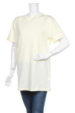 Дамска тениска Nike, Размер S, Цвят Жълт, Памук, Цена 51,75лв.