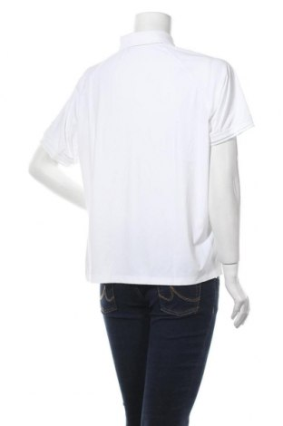 Дамска тениска Nike, Размер XL, Цвят Бял, 69% полиамид, 31% еластан, Цена 20,70лв.