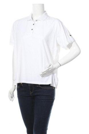 Дамска тениска Nike, Размер XL, Цвят Бял, 69% полиамид, 31% еластан, Цена 36,57лв.