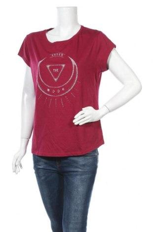 Γυναικείο t-shirt Now, Μέγεθος XL, Χρώμα Κόκκινο, Βαμβάκι, πολυεστέρας, Τιμή 9,25€