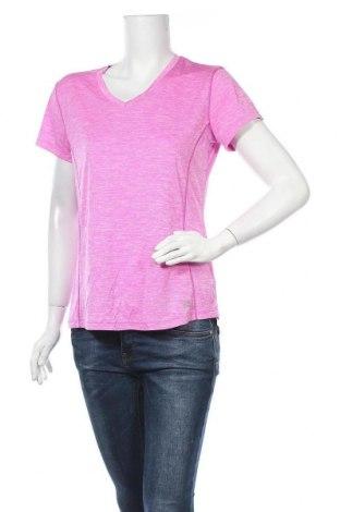 Γυναικείο t-shirt Rbx, Μέγεθος L, Χρώμα Ρόζ , Πολυεστέρας, Τιμή 12,28€