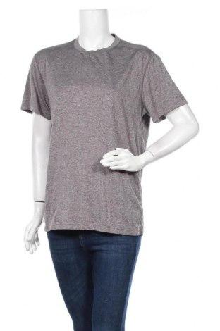 Дамска тениска Rbx, Размер L, Цвят Сив, Полиестер, Цена 6,43лв.