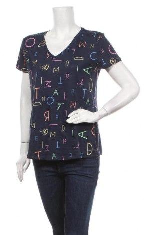 Дамска тениска Tom Tailor, Размер L, Цвят Син, Памук, Цена 29,25лв.