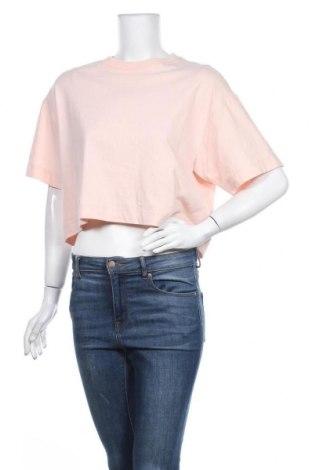 Дамска тениска Topshop, Размер S, Цвят Розов, Памук, Цена 21,45лв.